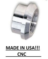 "QTY 1 -- 1/8"" NPT Aluminum Bung  Weld- In  MADE IN THE USA Top Hat"