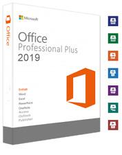 Microsoft Office 2019 Professional Plus  DEUTSCH  1 PC  Per EMAIL  Rechnung-