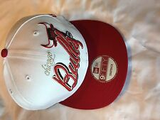 Team Chicago Bulls NBA New Era 9Fifty Snapback White and Red Cap New with Tags
