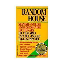 Random House Spanish-English English-Spanish Dictionary by Random House...