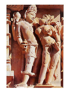 Cartolina Kamasutra Khajuraho Peterandclo 4530