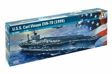 Italeri 5506 1/720 Scale Aircraft Carrier Model Kit U.S.S Carl Vinson CVN-70