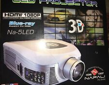 Napali Na-5LED High Performance Projector Blue-ray 3D HDMI 1080P