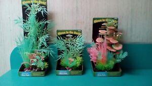 Penn Plax Glow Pods Aqua Plants: Small, Medium, or Large: Glow in the Dark Decor