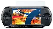 3x FX-Shock-Clear Displayschutzfolie Sony PSP-E1000 / E1004 Panzerfolie Folie