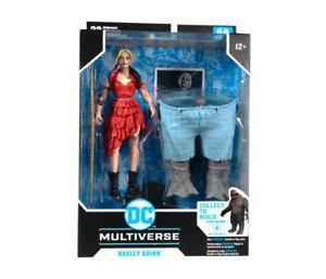 McFarlane Toys - DC Multiverse SUICIDE SQUAD Wave : HARLEY QUINN KING SHARK BAF