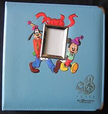 1991 Disney's 20 Years Walt Disney World Photo Album with Mickey & Goofy *NEW*
