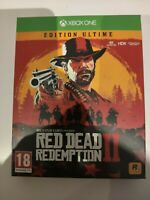 red dead redemption 2 II edition ultime ultimate neuf xbox one xboxone