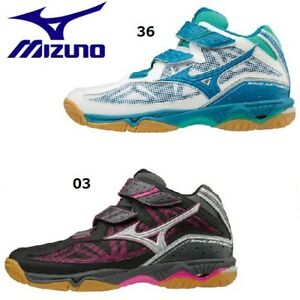 New Mizuno Volleyball Shoes Ladies Wave Artemis 4 MID V1GC1858 Freeshipping!!