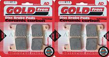 SUZUKI GSXR 1000 K6 2006 > SINTERED FRONT BRAKE PADS (2 pair) *GOLDFREN*