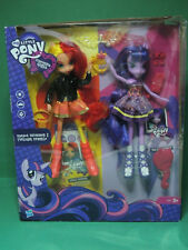 Mon Petit Poney Poupée SUNSET SHIMMER & TWILIGHT SPARKLE Equestria Girls doll YR
