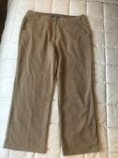 Rohan Ladies Travel Linen Trousers Size 18