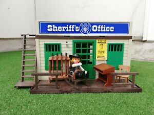 Playmobil Western Sheriff's Office 3423mit Zubehör