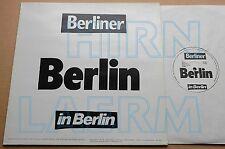 VA BERLIN – BERLINER In BERLIN LP 500p | Schnitzler Bender Tödliche Doris Alu
