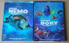 Finding Nemo & Dory in DVD 2 Movie Disney Bundle New + Free Shipping