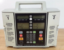 BAXTER FLO-GARD 6301 DUAL CHANNEL INFUSION IV PUMP +NEW BATTERY +90-DAY WARRANTY