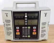 BAXTER FLOGARD FLO-GARD 6301 DUAL CHANNEL INFUSION IV PUMP +BATTERY 90D WARRANTY