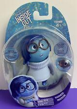 "Disney Pixar Inside Out Sadness Action Figure TOMY 2015 3.5"" NEW SEALED"