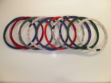 18 GXL HIGH TEMP AUTOMOTIVE WIRE 10 STRIPED COLORS 10 FEET EACH 100 FEET TOTAL