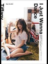 GIRLS' GENERATION TIFFANY [I JUST WANNA DANCE] 1st Mini Album CD+Photo Book+Card