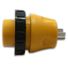 RecPro™ RV Power Cord Adapter 15 Amp Male to 30 Amp Twist Lock Female