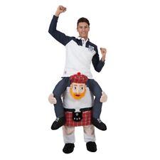 Adult Piggy Back Carry Me Jock Scottish Scotsman New Fancy Dress Mascot Costume