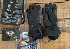 Harley Davidson Heated Gloves, BRAND NEW