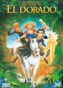 The Road to El Dorado DVD (2001) Eric Bergeron - Fast Free Shipping