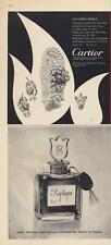 1962 Cartier Torsade Emerald Bracelet -  Replique Perfume-2 for 1 PRINT AD
