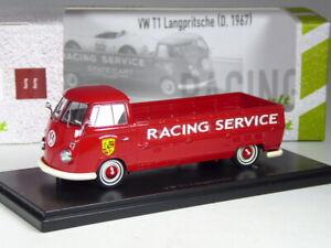(KI-12-21) Autocult VW T1 Truck Bed Porsche Racing Ltd 333 Pcs IN 1:43 IN Boxed