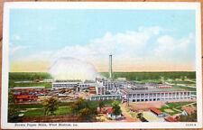 1954 West Monroe, Louisiana Postcard: Brown Paper Mills - LA