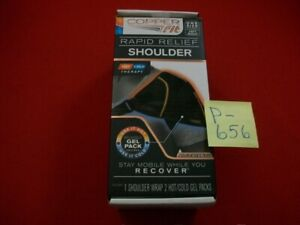 BRAND NEW  COPPER FIT RAPID RELIEF L/R SHOULDER WRAP-HOT/COLD THERAPY ADJUSTABLE