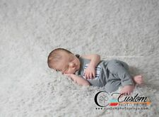 Large Lamb Lullaby Vegan Faux Fur Newborn Baby Photo Prop, Baby Props, Backdrop