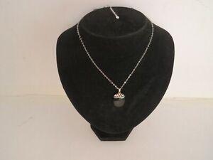 925 Sterling Silver Black Onyx Pendant Necklace