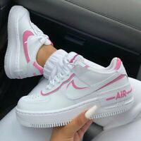 nike air force 1 shadow bianche e rosse