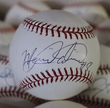 Miguel Olivo Single Signed Baseball  Autographed Ball
