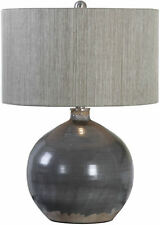 Vardenis Gray Ceramic Table Lamp by Uttermost #27215-1