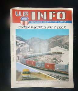 1970 March Union Pacific Railroad U.P. INFO Emplooyes Info Letter Labor issues