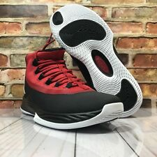 9693a8f1ce2a26 Jordan Ultra Fly 2 Black White Gym Red Mens Size 10 Baskeball Shoes 897998  001