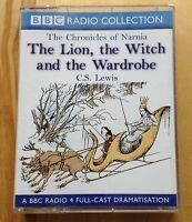 AUDIO BOOK: C S Lewis - THE LION, THE WITCH AND THE WARDROBE - 2 x cassettes