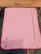 "Just One Year Little Cutie Pink Blanket 26"" X 34"""