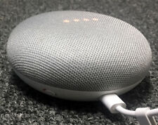Google Home Mini Smart Small Speaker - Chalk Grey