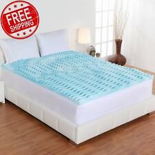 Foam Mattress Topper 2/3/4 Inch Premium Orthopedic Pad Bed Protector NEW