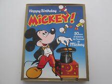 MICKEY HAPPY BIRTHDAY 50 ANS DU JOURNAL DE MICKEY 1985 FRANCE LOISIRS TBE/TTBE