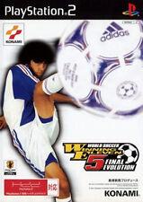 Used PS2 World Soccer Winning Eleven 5 Final Evolution Import Japan