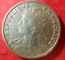 1904 25 Centimes from France KM# 856 A-098