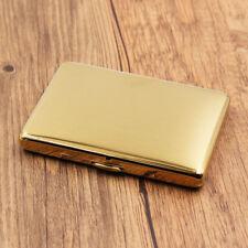 Thin brushed matte golden cigarette case cigarette box for mini cigarette,CC20