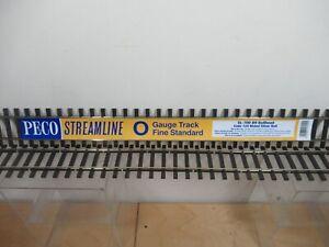 PECO STREAMLINE '0' GAUGE SL-700BH  2 X 3' ( 91.5 cm) FLEXIBLE UNIVERSAL TRACK.