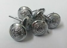 X 6 VINTAGE BRADFORD CITY POLICE BUTTONS SMALL