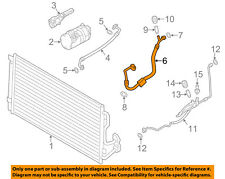 BMW OEM 12-15 335i-A/C AC Hose Line Pipe 64539334689
